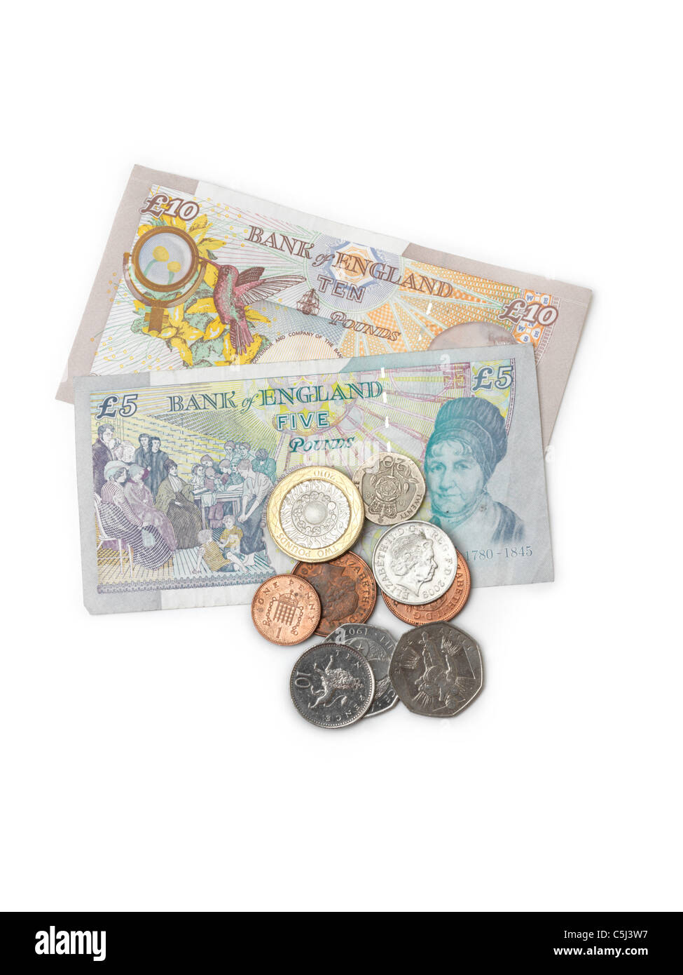 English Currency Stock Photos & English Currency Stock