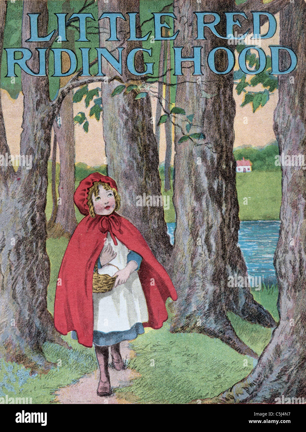 Little Red Riding Hood Book Cover Stock Photos Little Red Riding