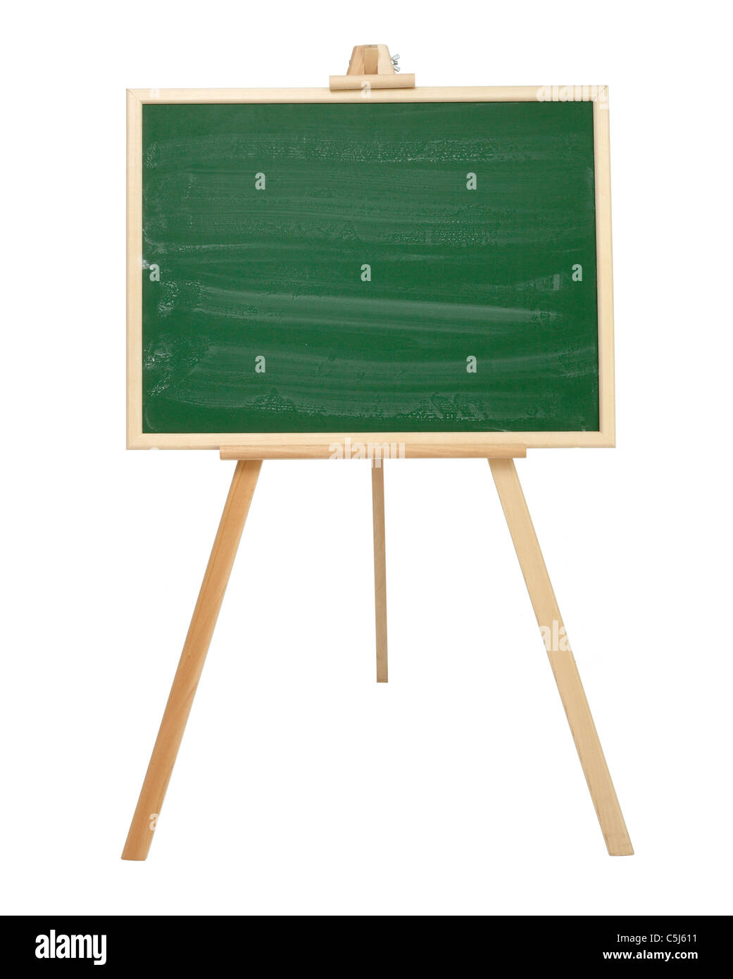 close up of a blackboard - Stock Image