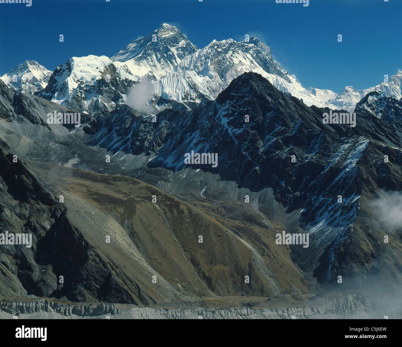 The Everest group including Nuptse and ...