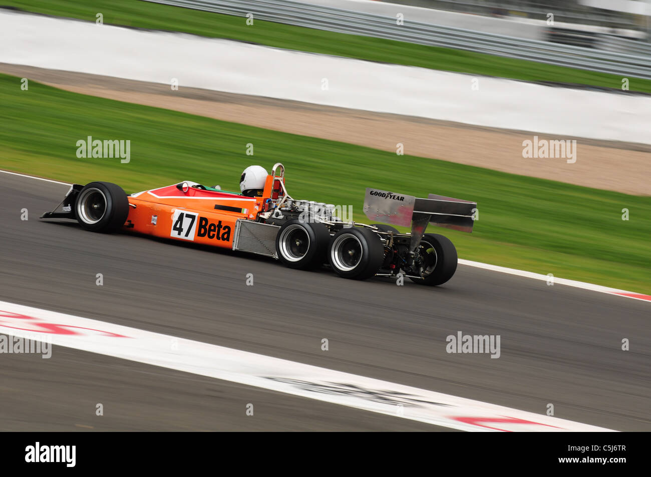 Jeremy Smith - 1976 March 2-4-0 - Silverstone Classic - Stock Image