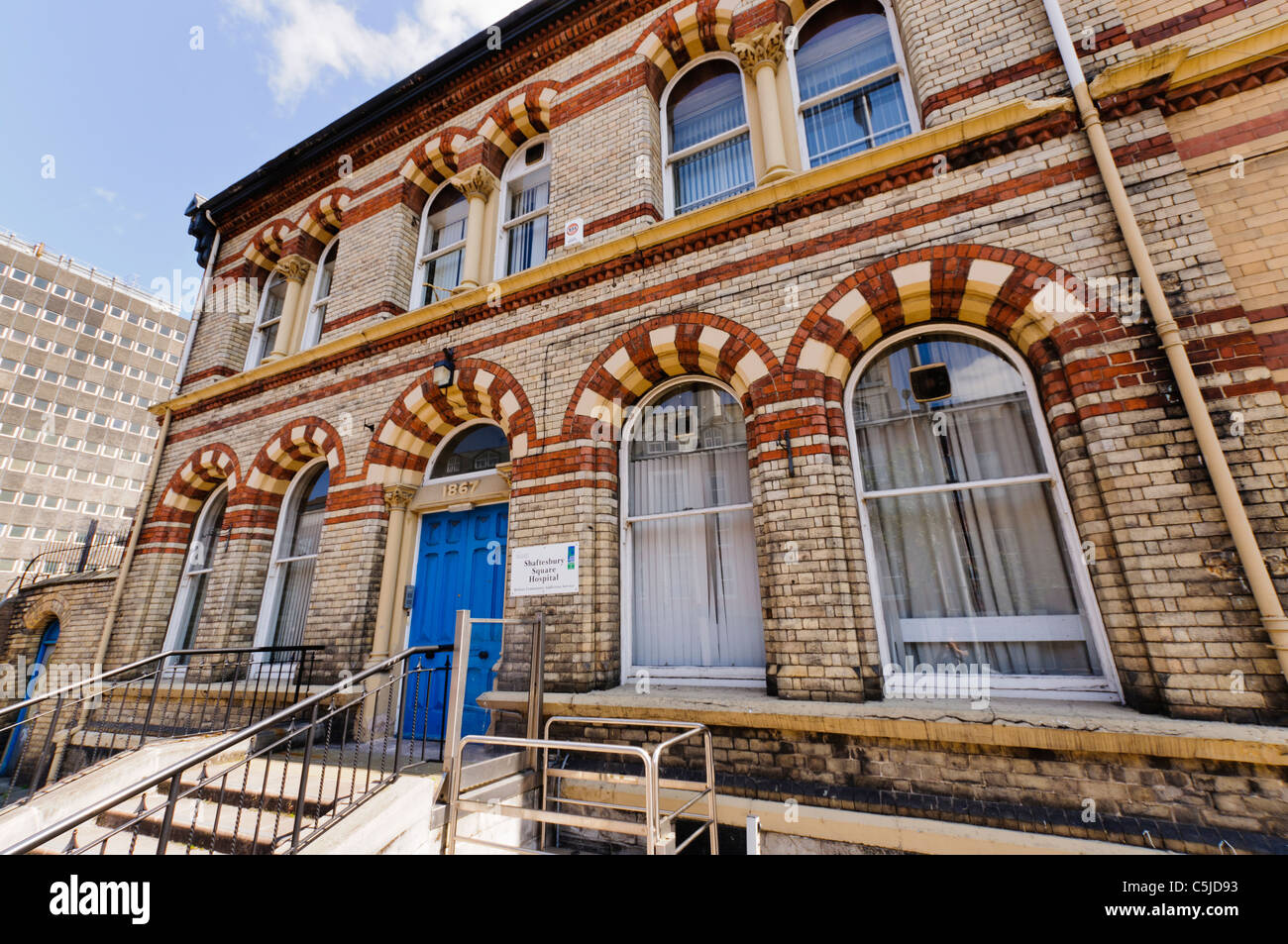 The Shaftesbury Hospital, Belfast, specialising in alcohol and drug addiction and dependency - Stock Image