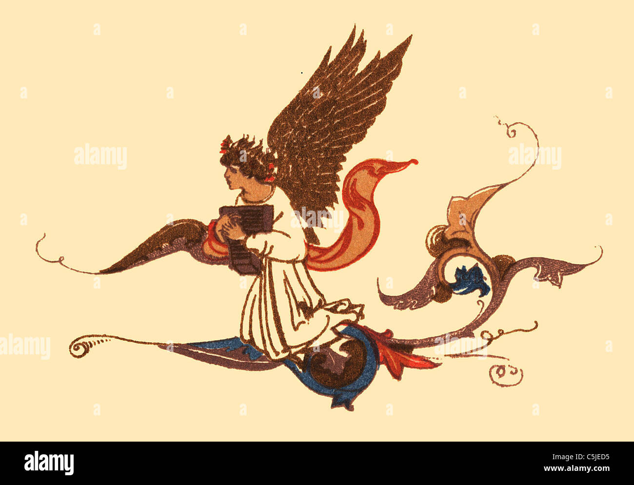 Antiquarian book illustration - Stock Image