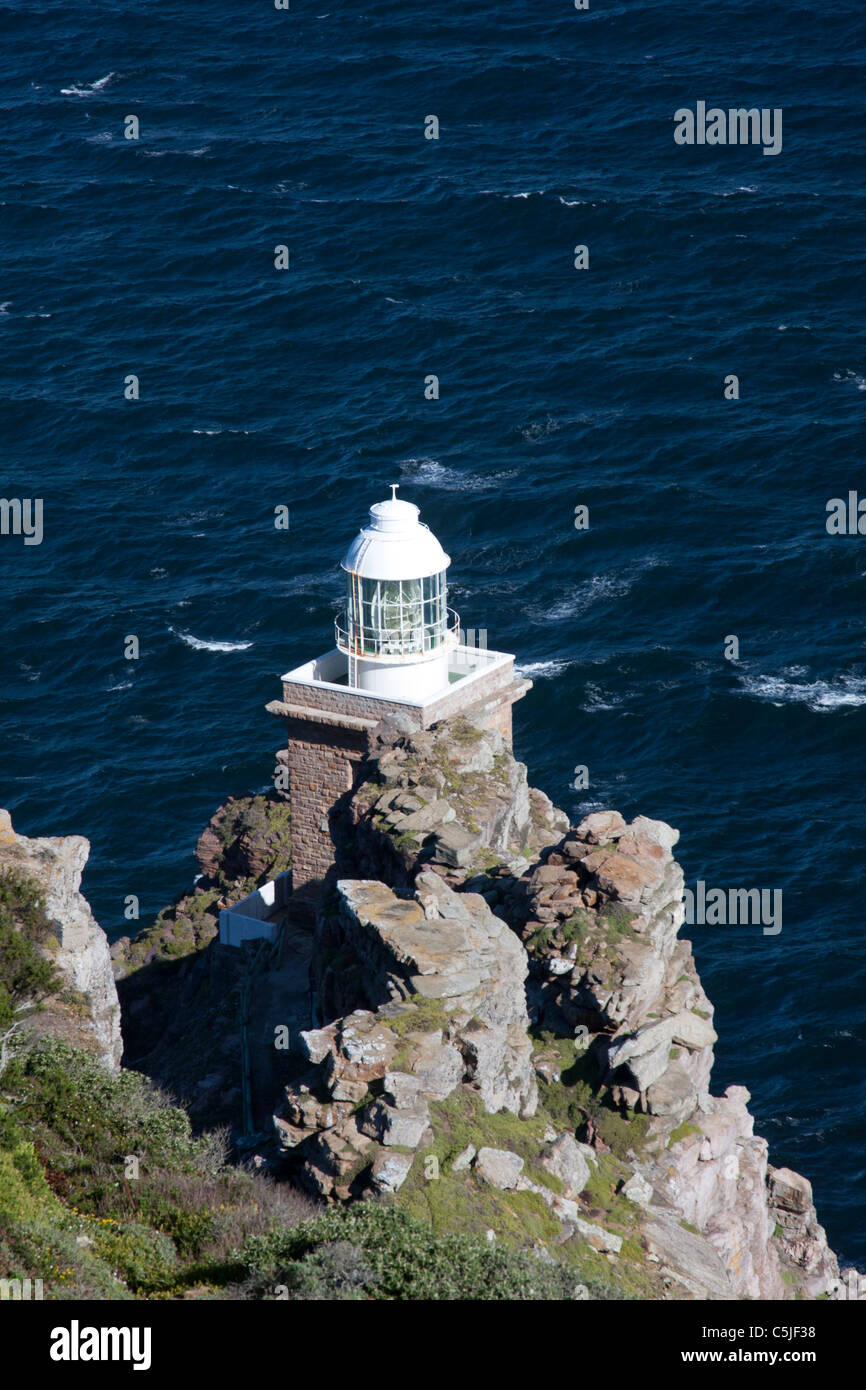 Lighthouse at Cape Point - Stock Image