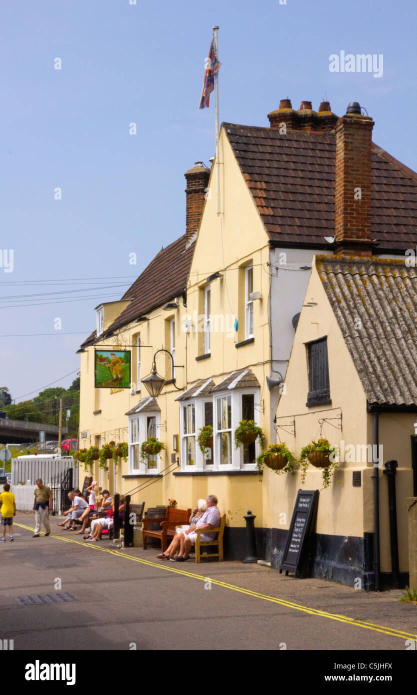 The Crooked Billet, Old Leigh-on-Sea - Stock Image