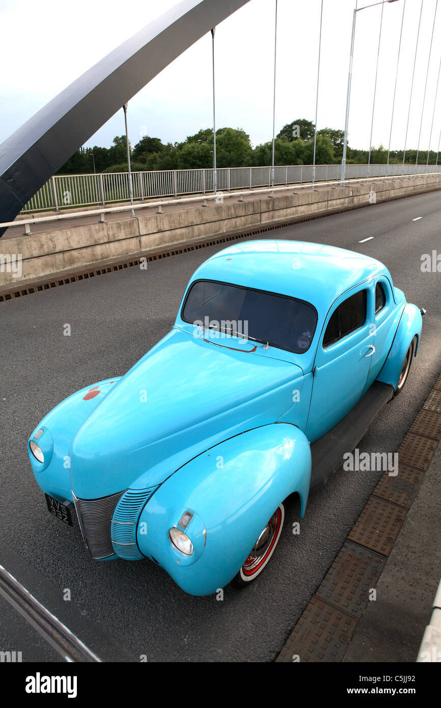 1940's Ford Coupe Stock Photo