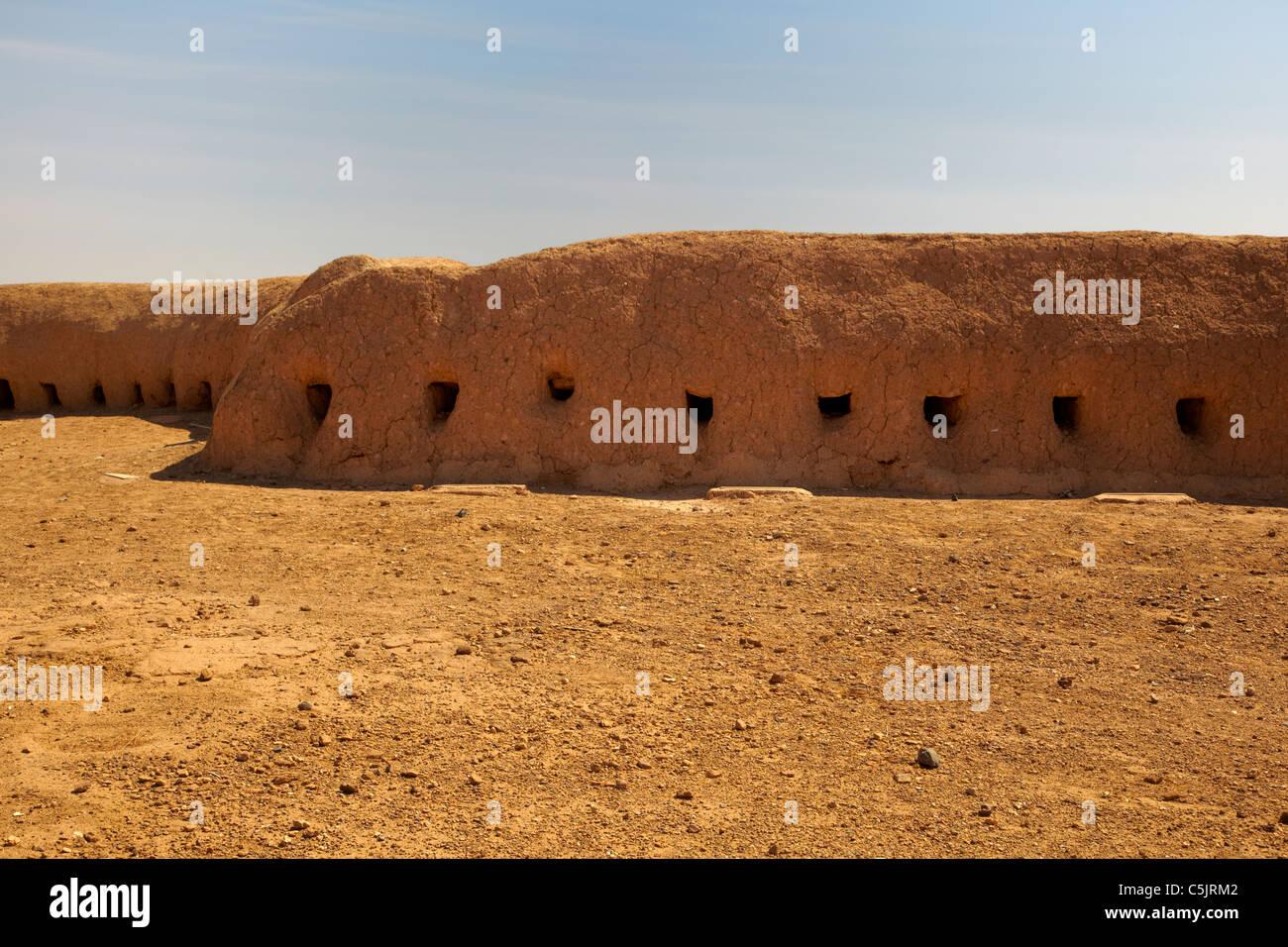 Abdul Kayoum Gate Fort, Omdurman, Northern Sudan, Africa - Stock Image