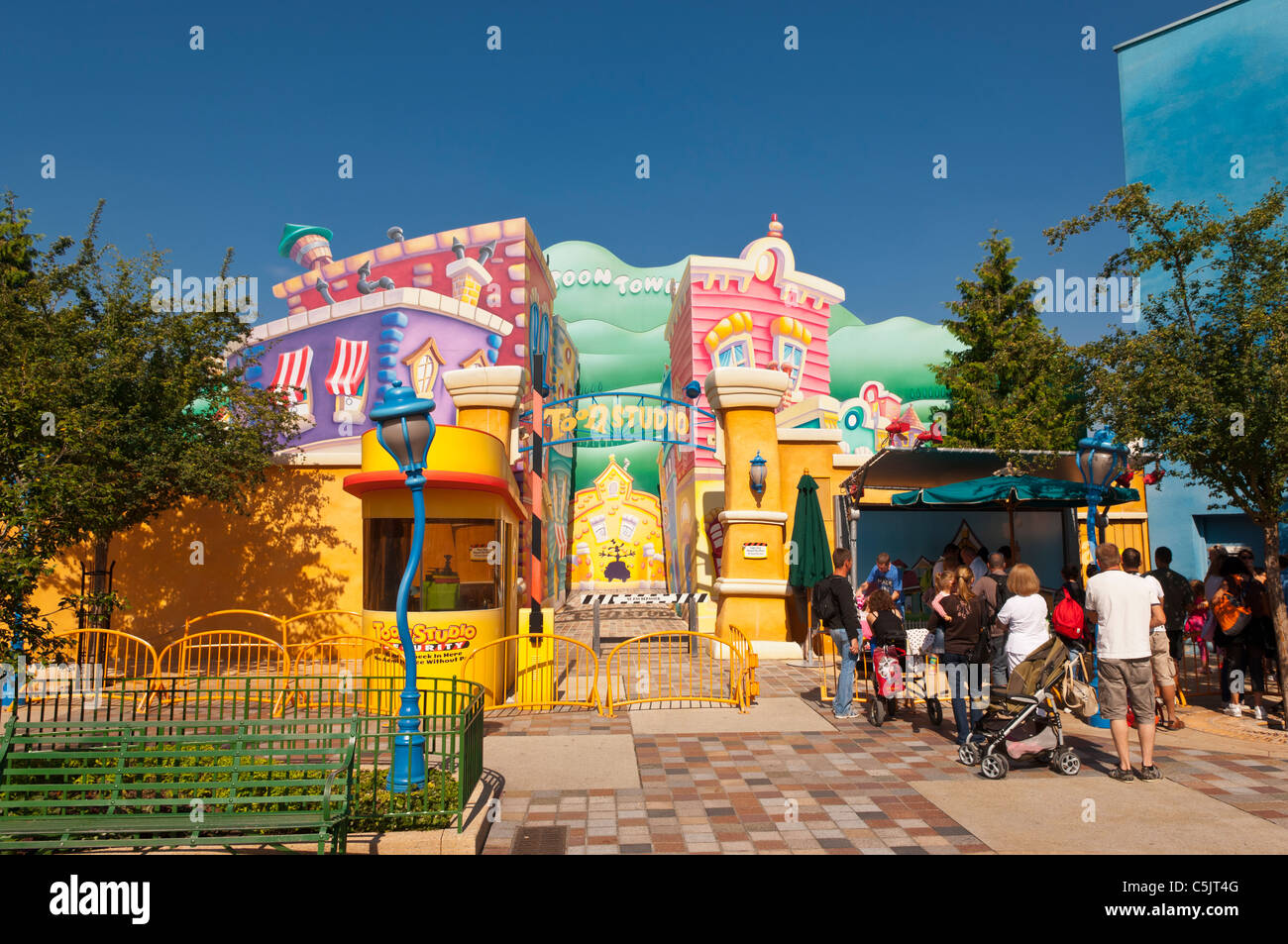 toon studio at the walt disney studios park at disneyland paris in stock photo 37908096 alamy. Black Bedroom Furniture Sets. Home Design Ideas