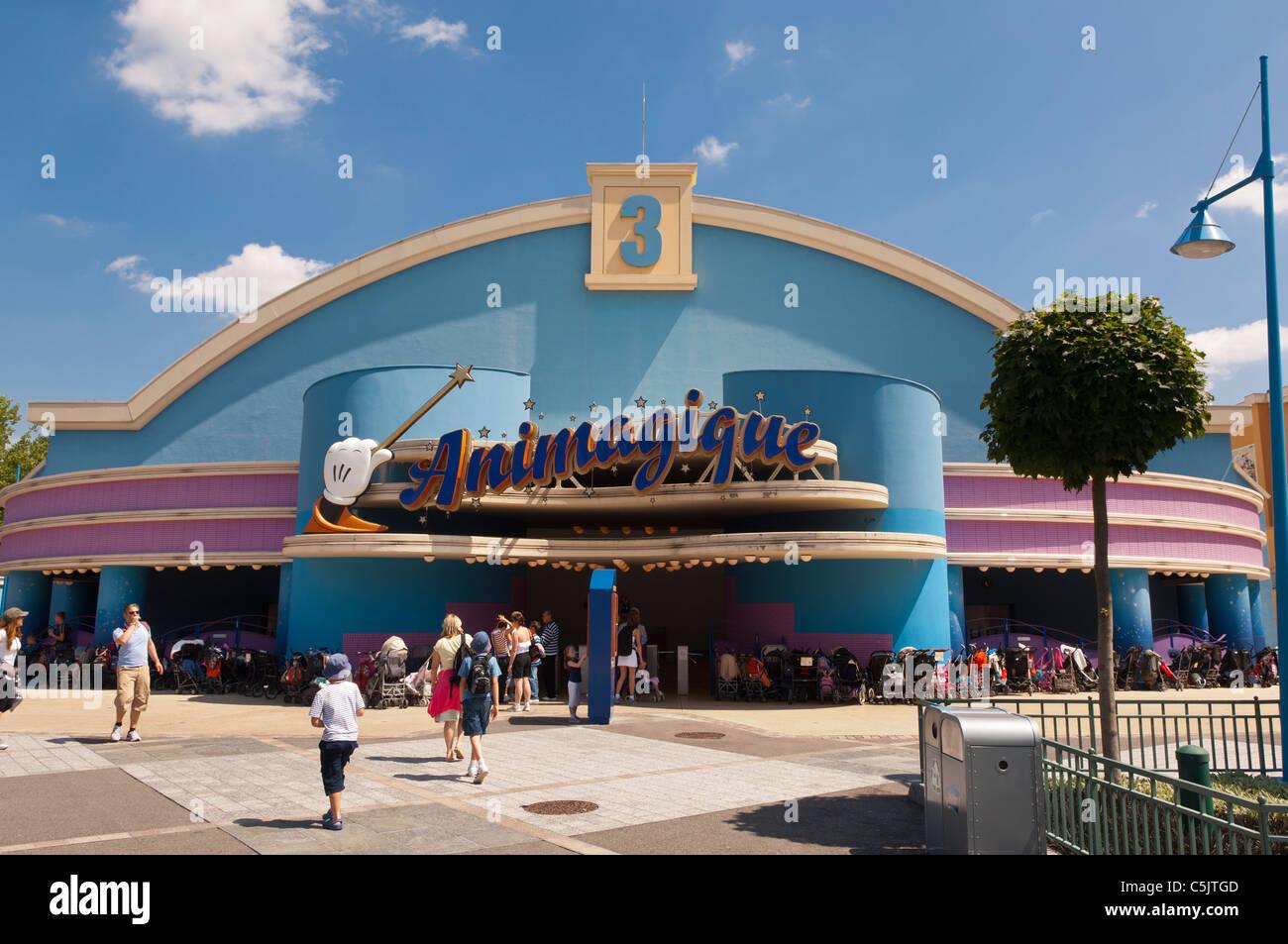 The Animagique live show at the Walt Disney Studios park at Disneyland Paris in France - Stock Image