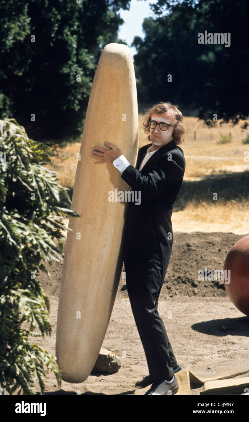 woody allen in  sleeper,1973 - Stock Image