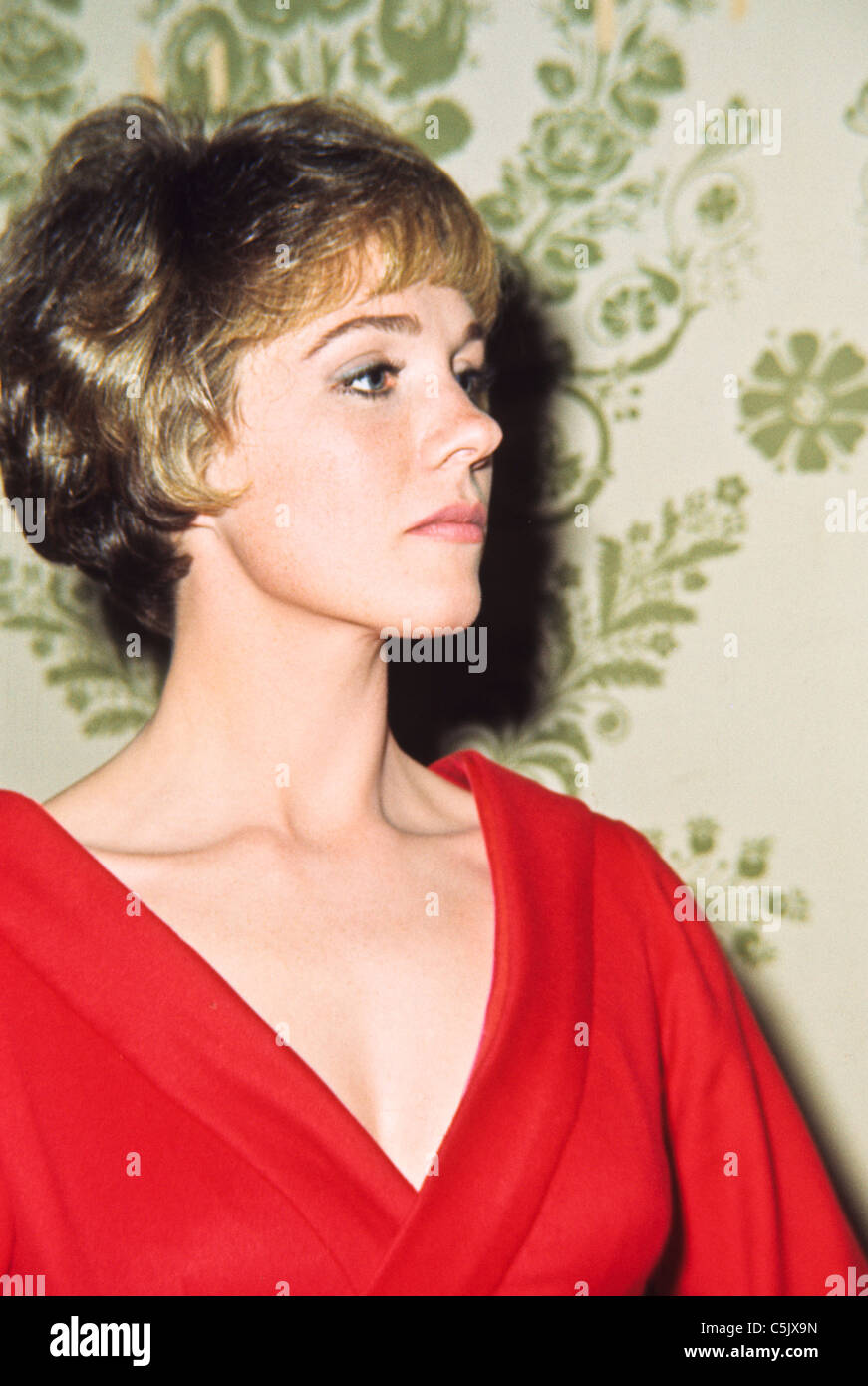 julie andrews,1960 - Stock Image