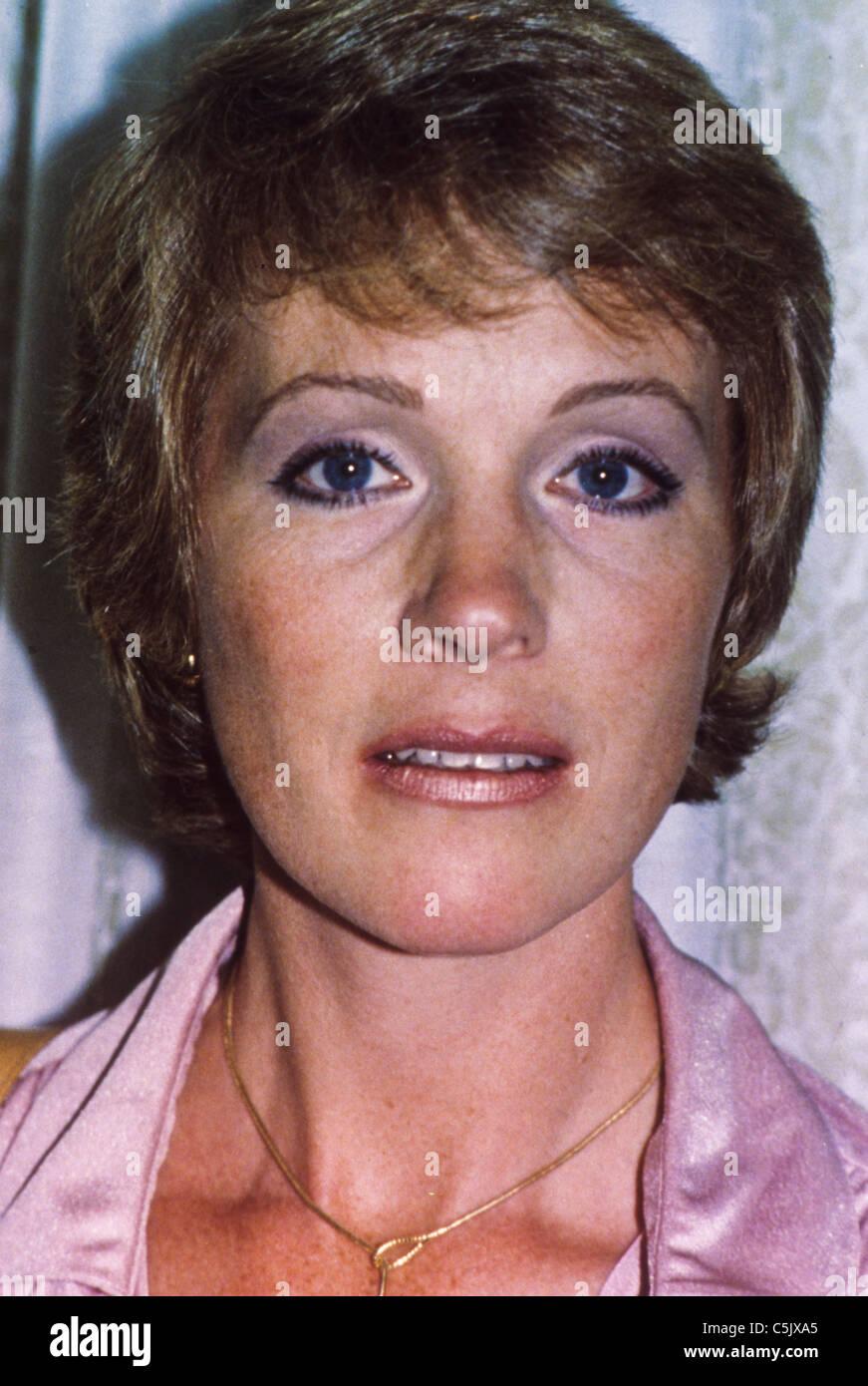 julie andrews,1990 - Stock Image
