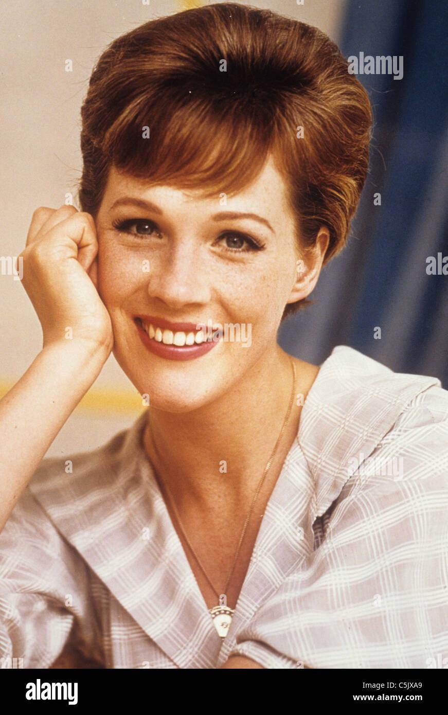julie andrews,1960 - Stock Image
