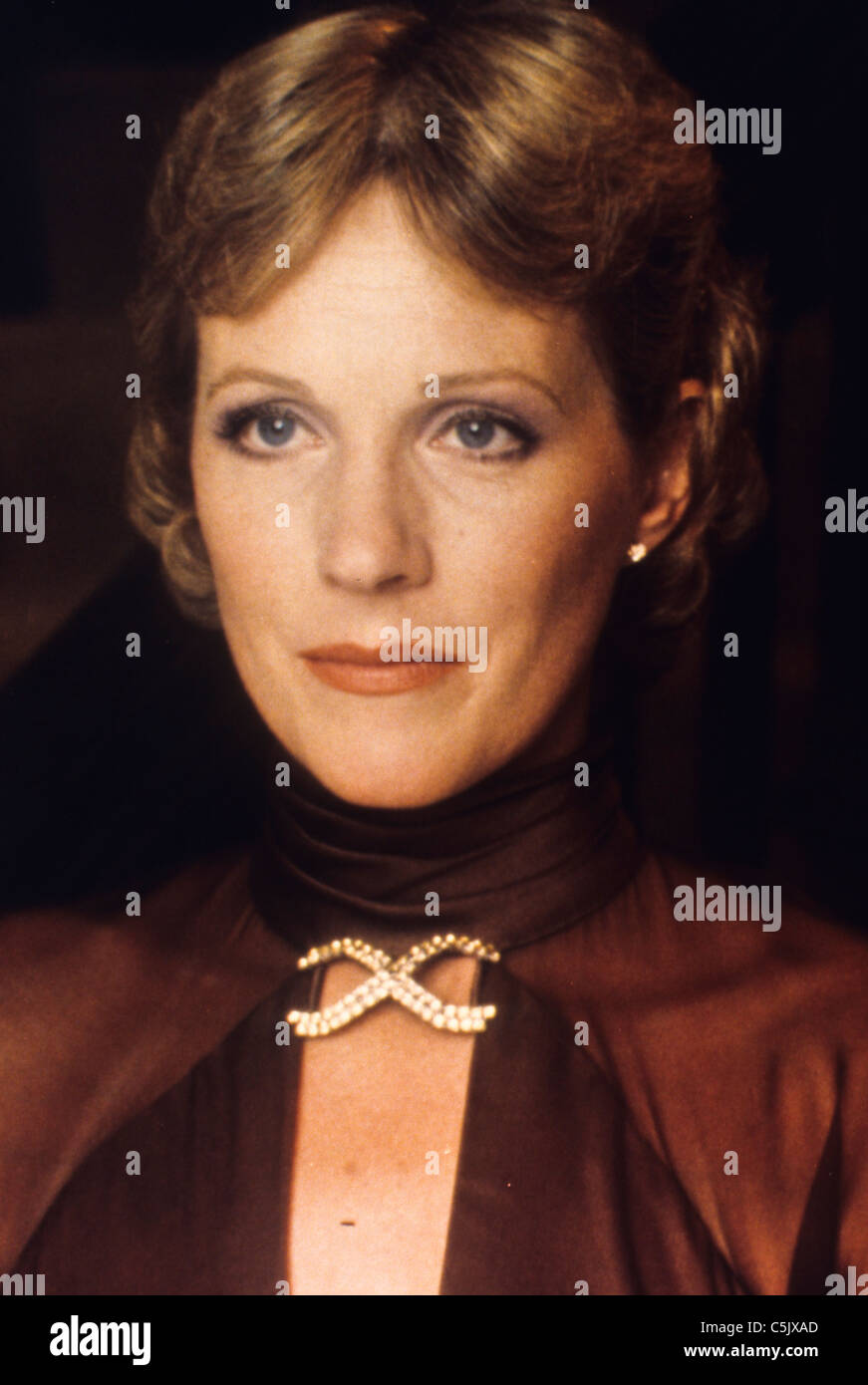 julie andrews,1980 - Stock Image