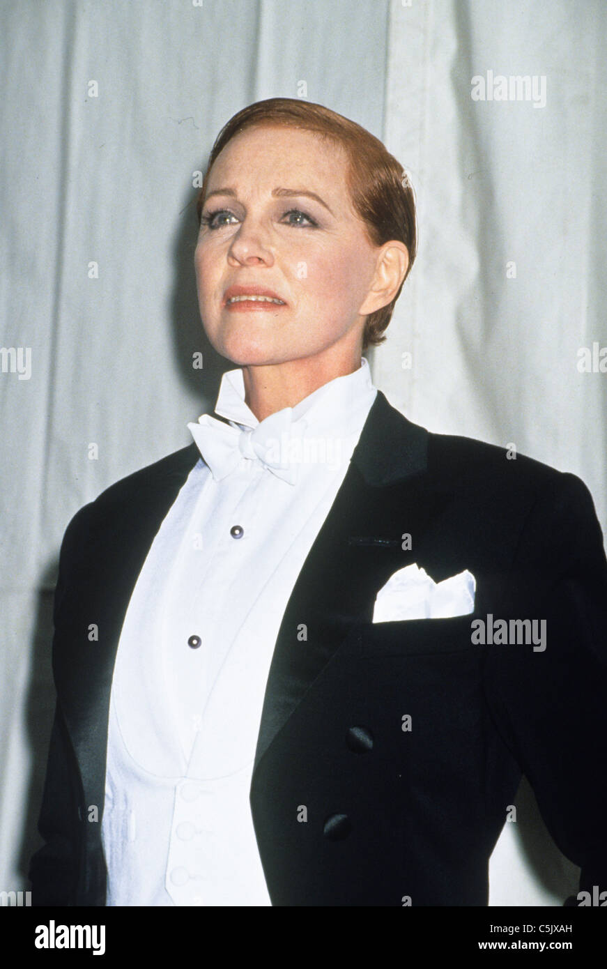 julie andrews in victor victoria,1982 - Stock Image