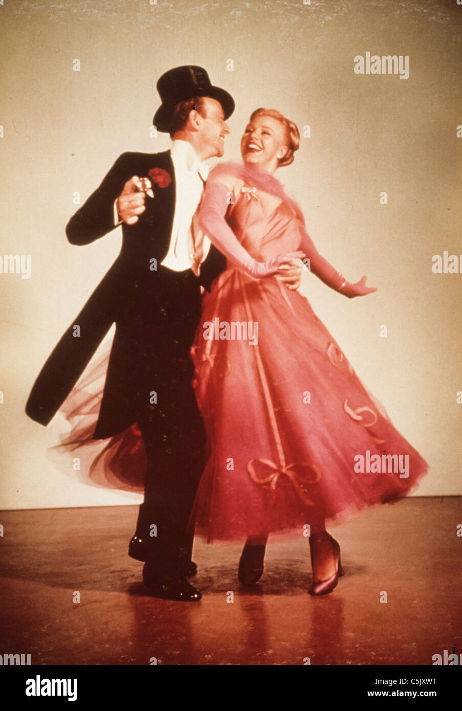 Fred Astaire and Ginger Rogers - Stock Image