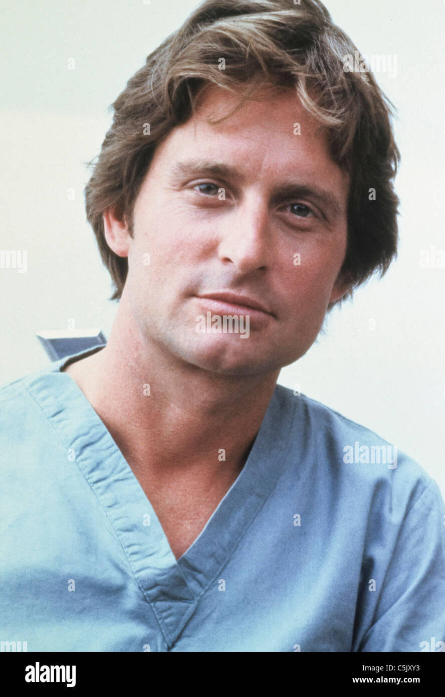 Coma 1978 Michael Douglas Stock Photos and Images