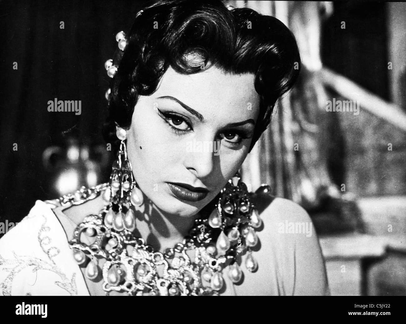 sophia loren attila, 1954 - Stock Image