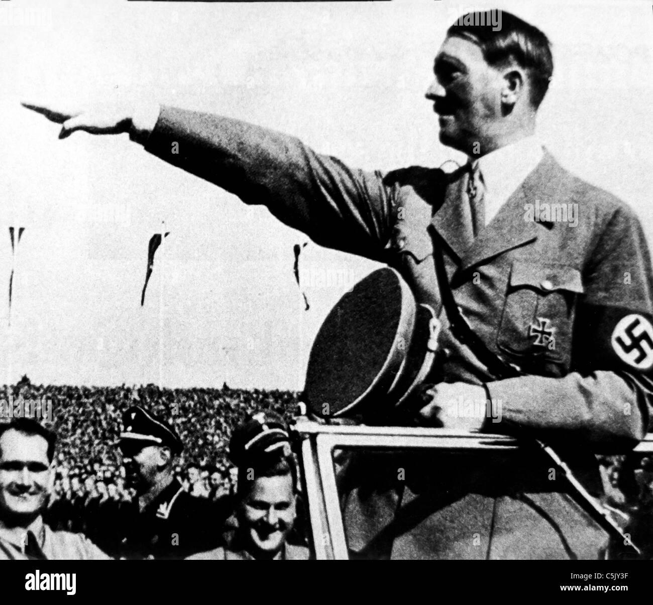adolf hitler, 1939 - Stock Image