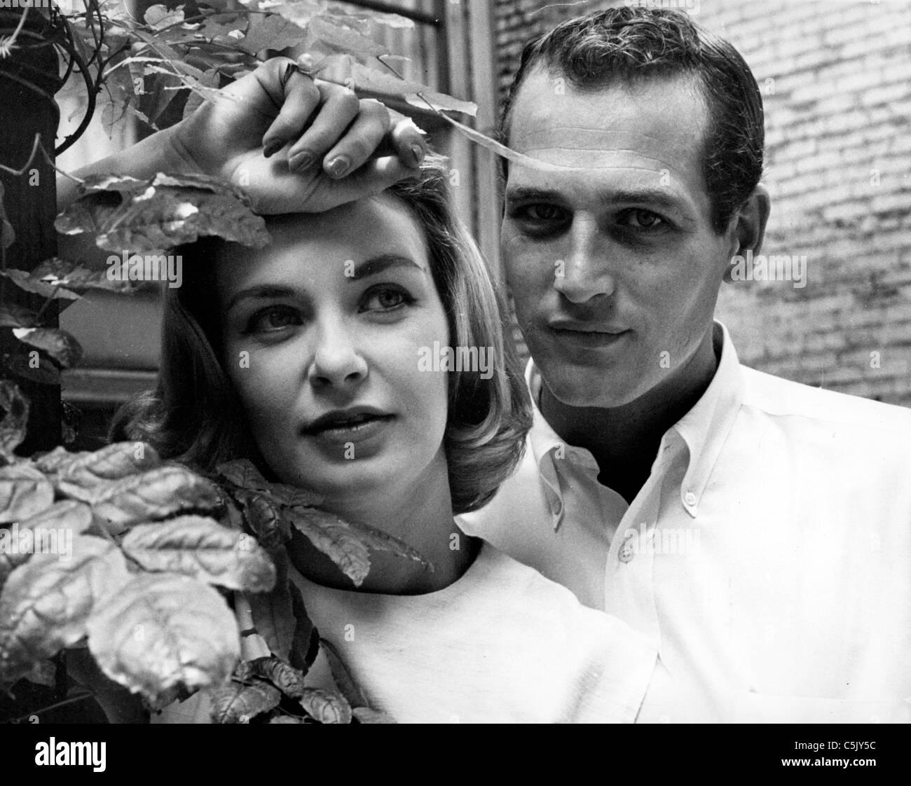 paul newman, joan woodward, 1962 - Stock Image