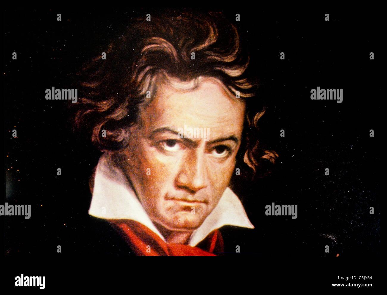Ludwig van Beethoven - Stock Image
