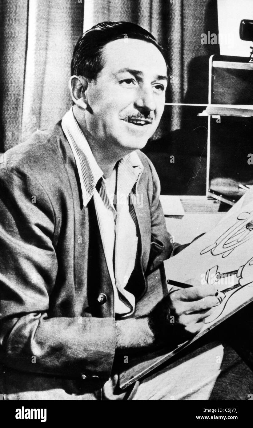 Walt Disney,1953 - Stock Image