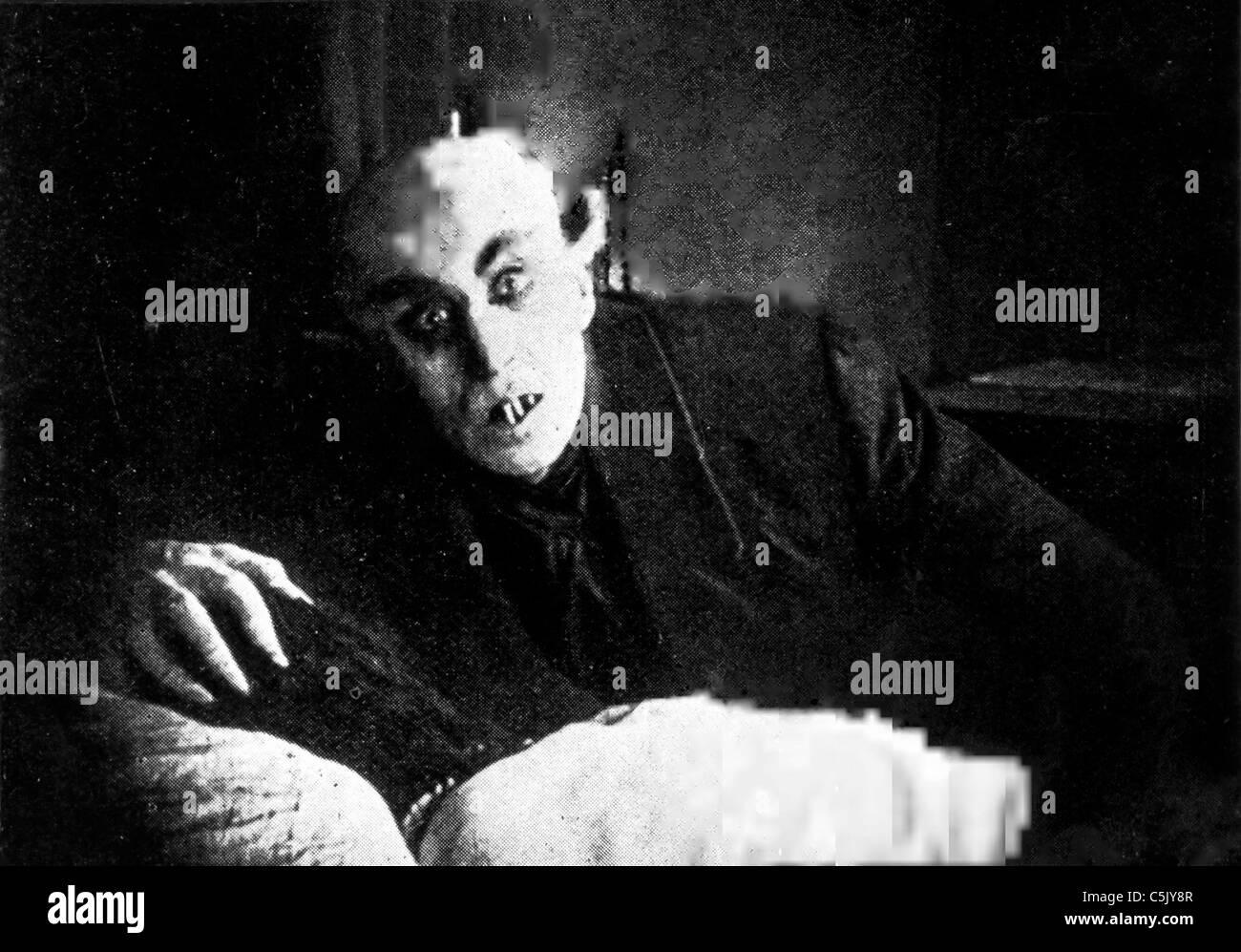 nosferatu, 1921 - Stock Image
