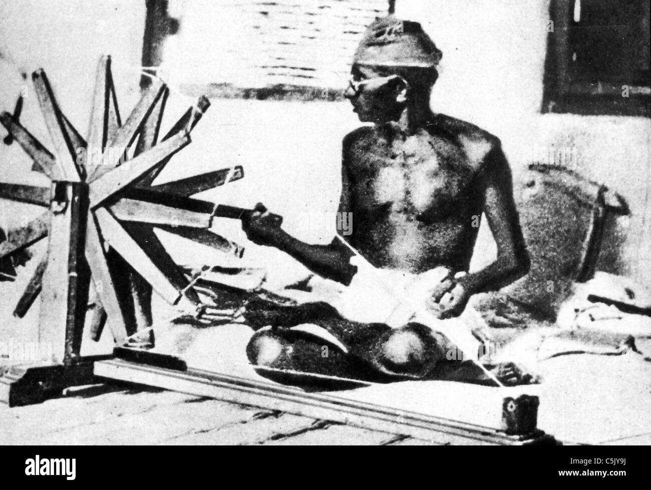 Mahatma Gandhi - Stock Image