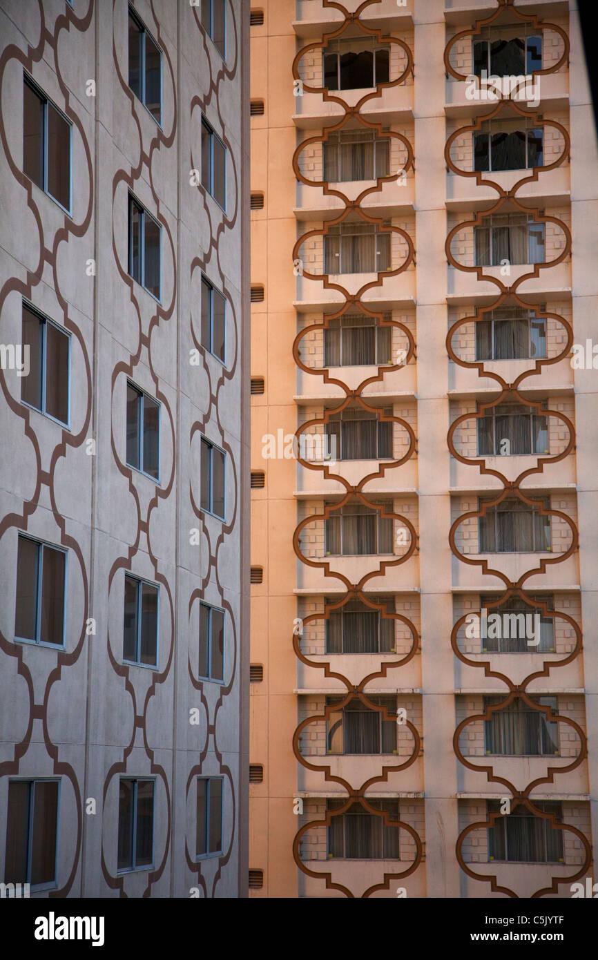 The Sahara Hotel and Casino, Las Vegas, Nevada. - Stock Image