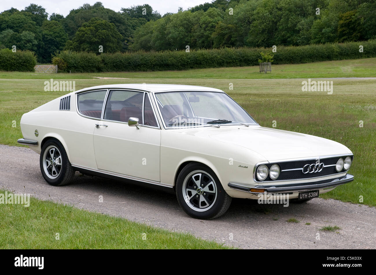 Audi 100 Coupe S 1973 Stock Photo