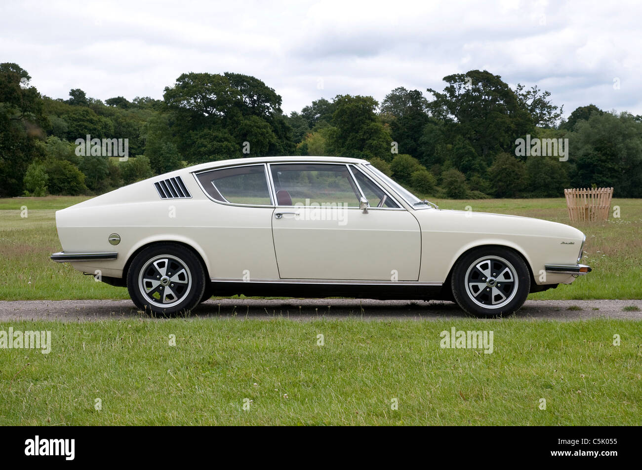 Audi 100 Coupe S 1973 - Stock Image