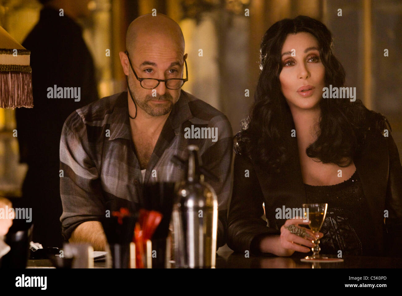 BURLESQUE (2010) CHER, STANLEY TUCCI STEVE ANTIN (DIR) 007 MOVIESTORE COLLECTION LTD - Stock Image