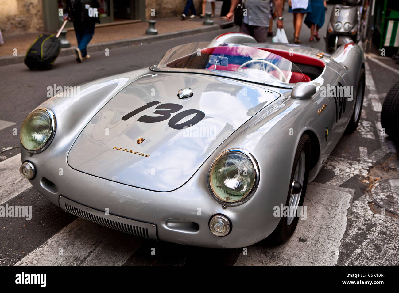 Porsche Spyder 550 Quot James Dean S Replica Stock Photo