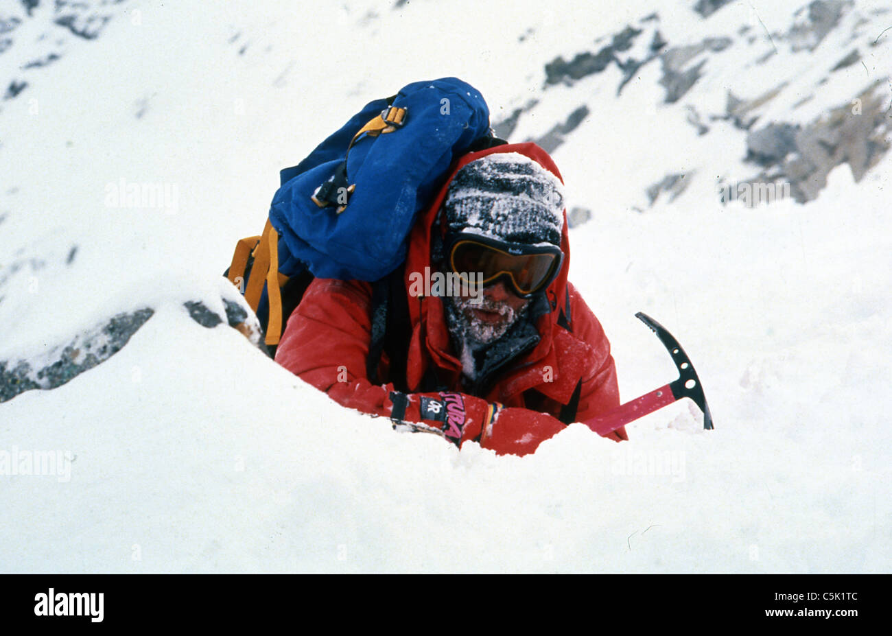 K2 (1991) MATT CRAVEN FRANC RODDAM (DIR) 008 MOVIESTORE COLLECTION LTD - Stock Image