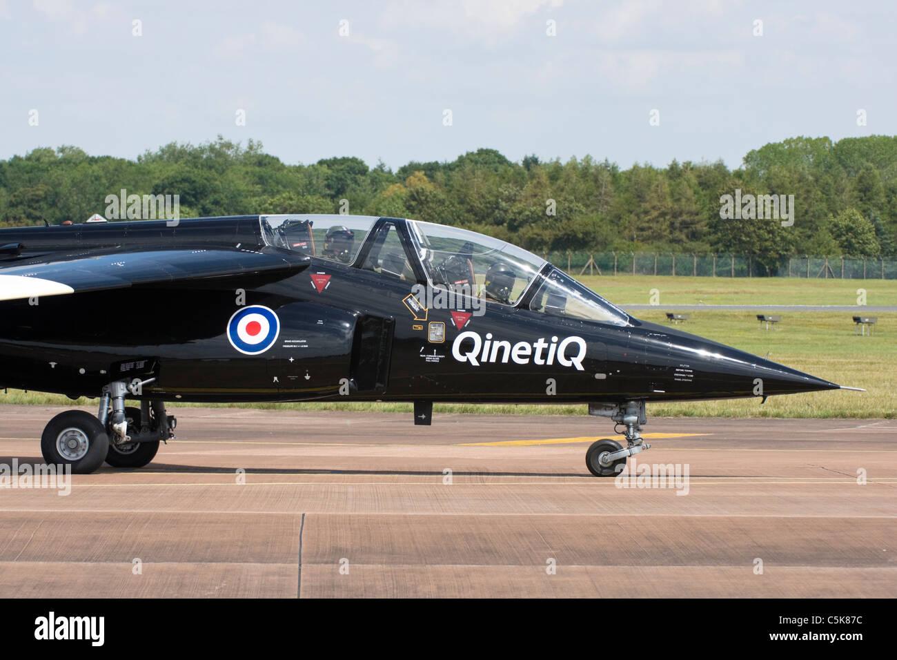 Qinetiq Alpha Jet - Stock Image