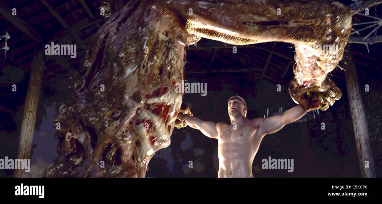 Beowulf  Year : 2007 USA Ray Winstone  Director: Robert Zemeckis - Stock Image