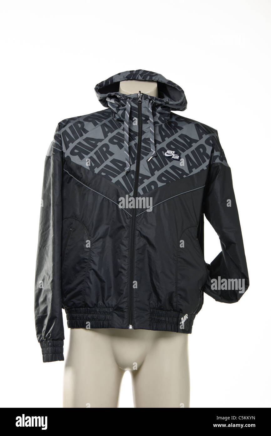 1228fc4a4715 Nike Air men s windrunner sportswear rain jacket. Reversible black with  detail one side