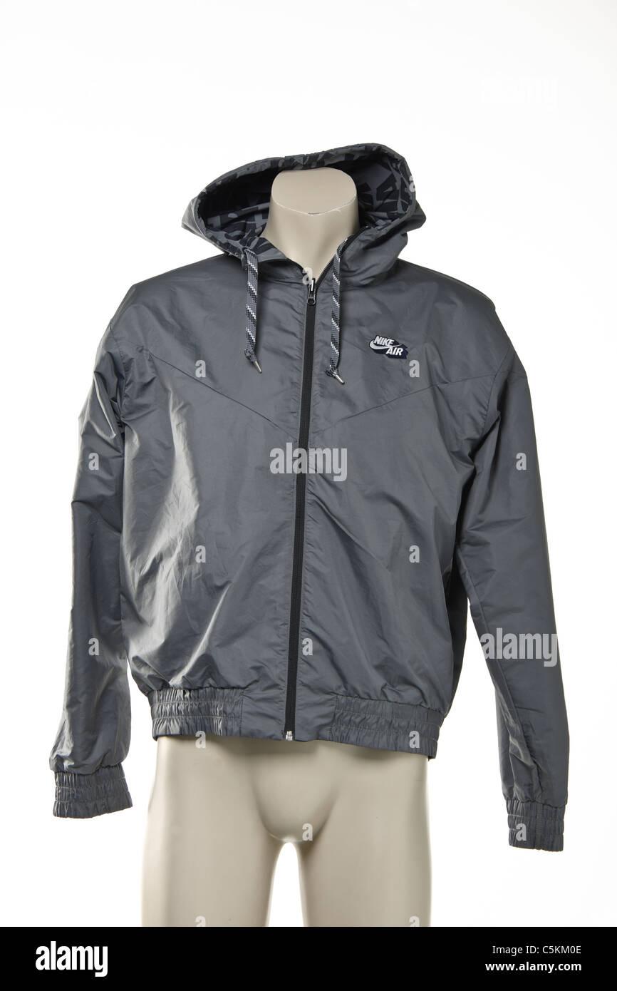 73410f12fc9a Nike Air men s windrunner sportswear rain jacket. Reversible black with  detail one side
