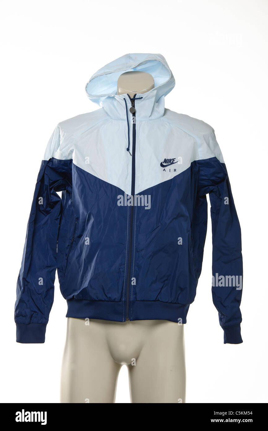 9aa219988a5c Nike Air windrunner men s sportswear nylon windcheater jacket. In light  blue dark blue