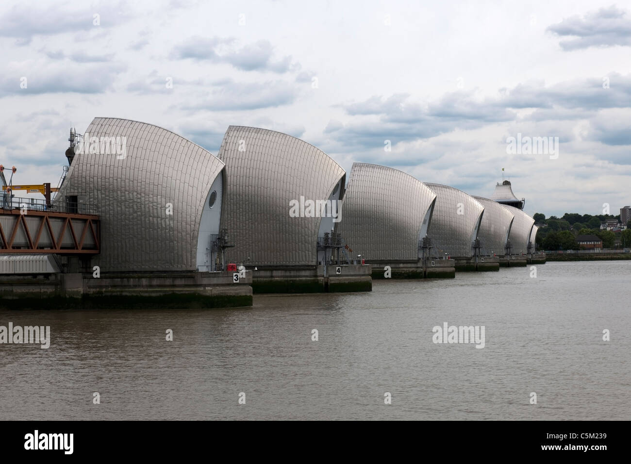 Thames Barrier -1 - Stock Image