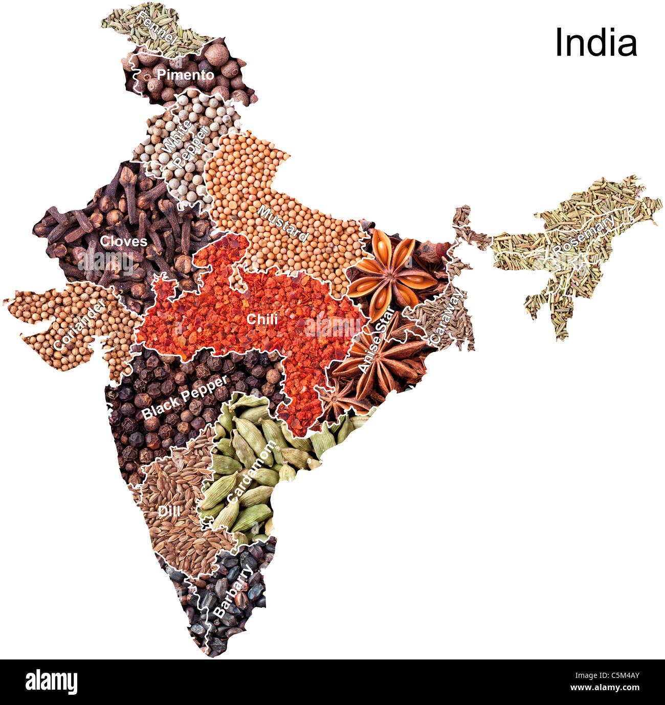 India Political Map Stock Photos & India Political Map Stock Images ...