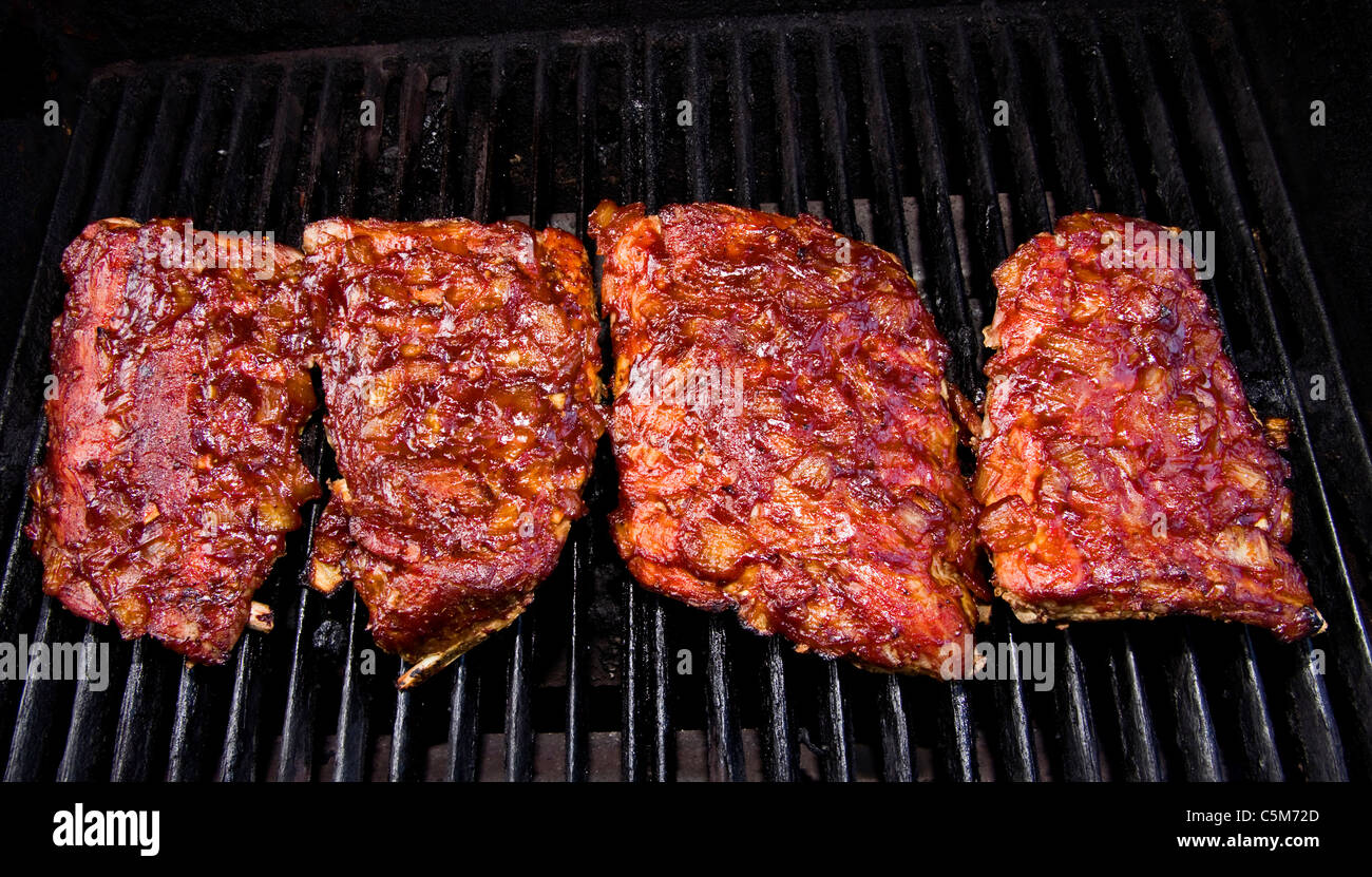 how to cook pork back ribs on bbq