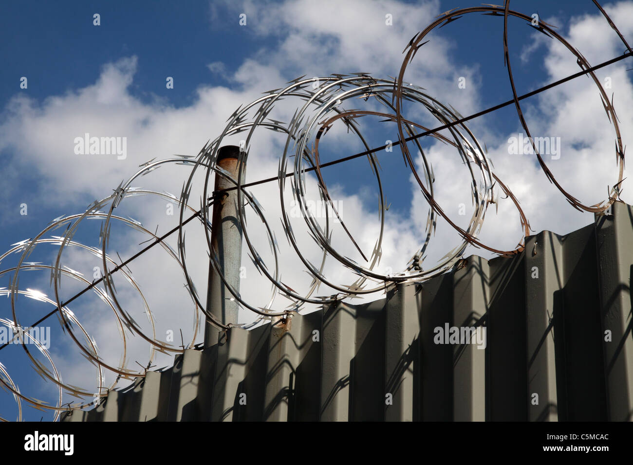 Barbed Wire Cut Out Stock Photos & Barbed Wire Cut Out Stock Images ...