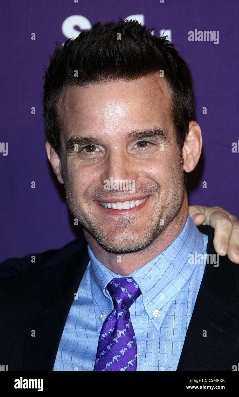 EDDIE MCCLINTOCK SYFY AND E! COMIC CON PARTY SAN DIEGO CALIFORNIA USA 23 July 2011 - Stock Image