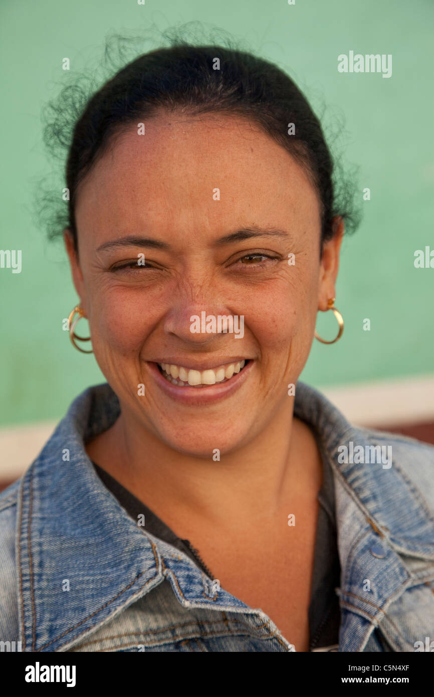 Cuba Trinidad Cuban Lady Stock Photo 37958887 Alamy