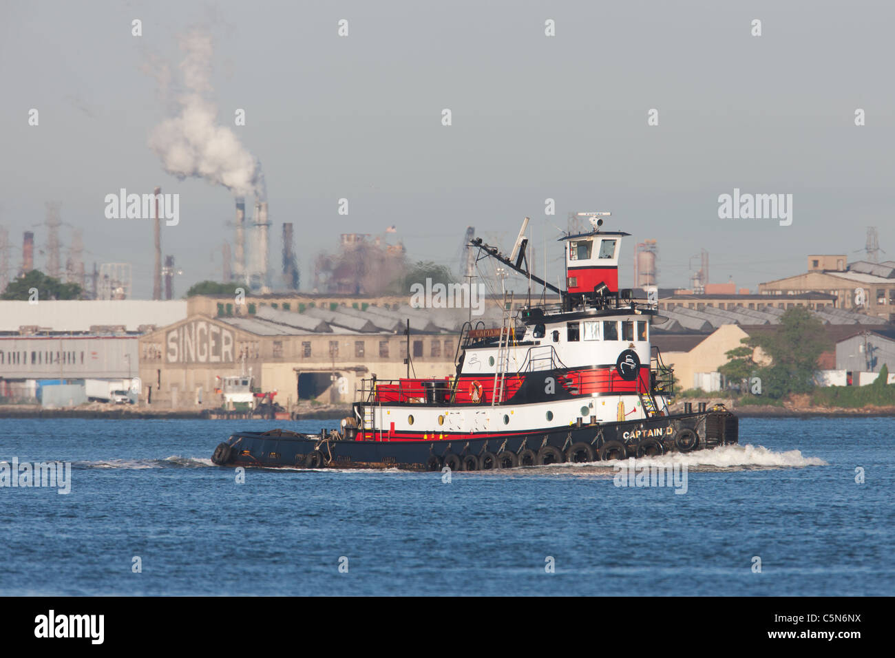 Tugboat Captain Stock Photos & Tugboat Captain Stock Images