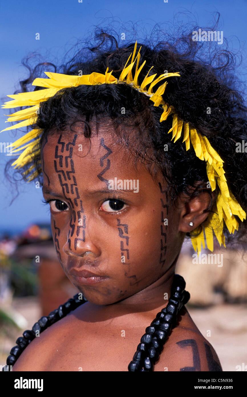 Impressions of Hiri Moale Festival, Port Moresby, Papua New Guinea - Stock Image