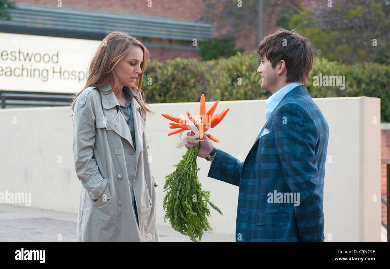 NO STRINGS ATTACHED 2011 Paramount film with Natalie Portman and Ashton Kutcher - Stock Image