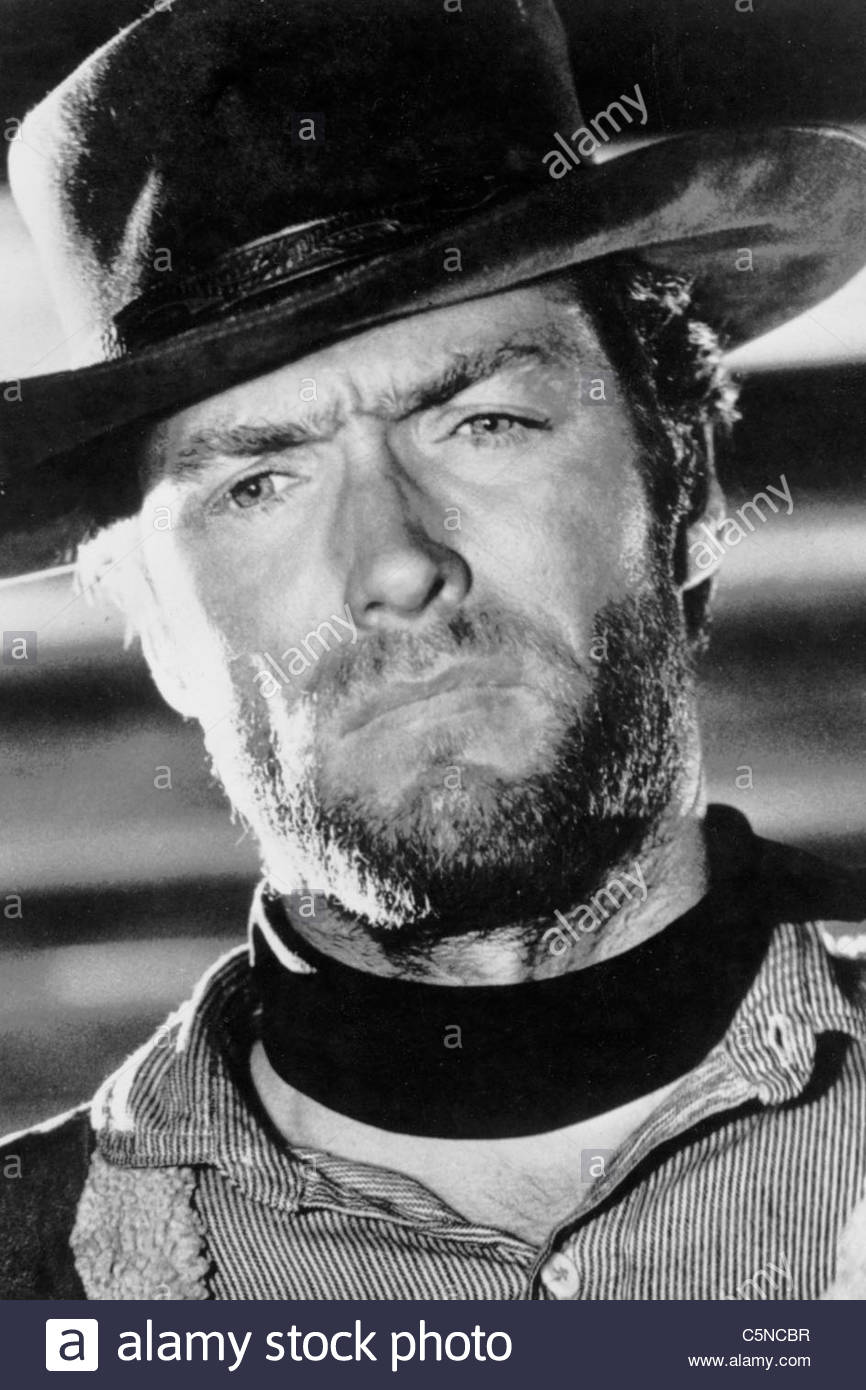 clint eastwood - Stock Image