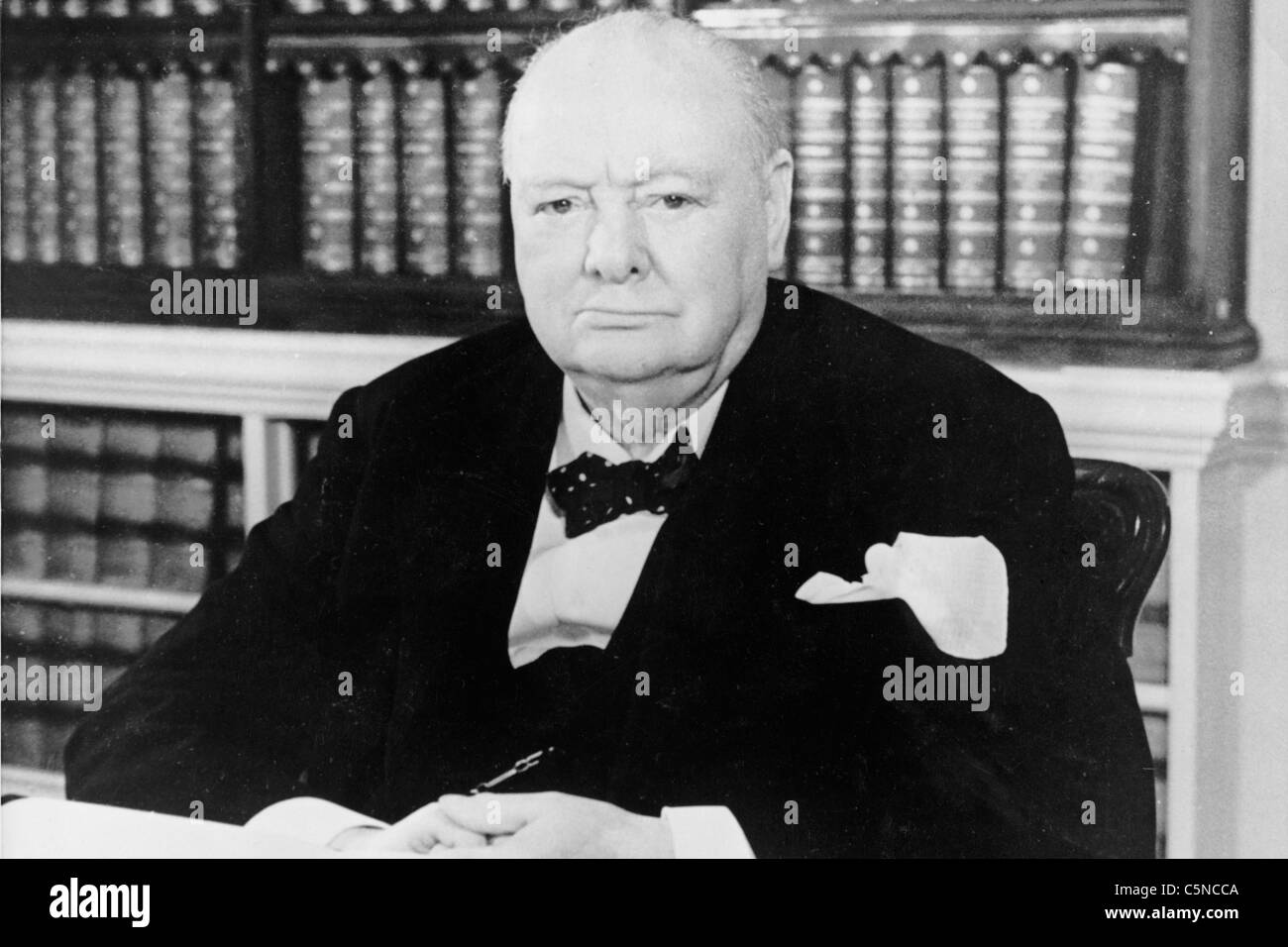 winston churchill - Stock Image